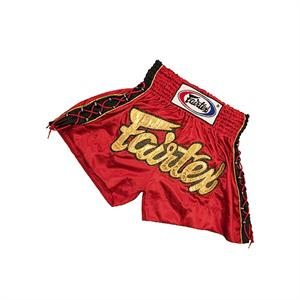 Fairtex Red Fight Shorts - Ferocious Collection